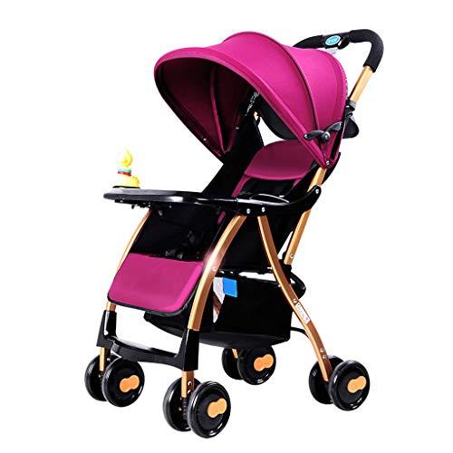 PIGE Kinderwagen - Tragbarer Outdoor-Kinderwagen, sitzend, Markise in voller Breite, Doppelbremssystem, geeignet für Kinder von 1 bis 5 Jahren.
