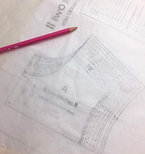 Swedish Tracing Paper Papel de calco Sueco para confección de Patrones (100 cm de Ancho x 10 m)