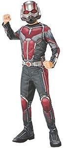 """Marvel - Disfraz de Ant Man """"El Hombre Hormiga"""" para niño, infantil 3-4 años (Rubie"""