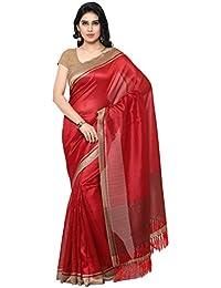 Rajnandini Tussar Art Silk Saree (Joplnb3005_Red Color)