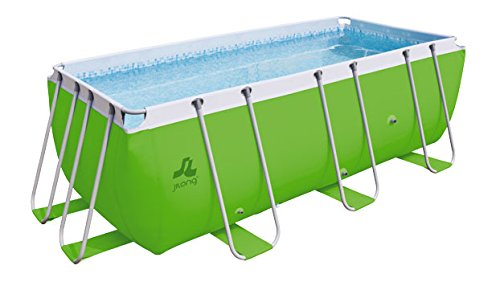 JILONG Piscina Tubular Passaat Verde 400 x 200 x 99 cm