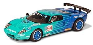 Scalextric C3136 - Escala 1:32 para Ford GT-R, Ranura para Coche, Color Negro