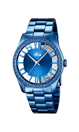 Lotus–Reloj de pulsera analógico para mujer cuarzo acero inoxidable 18251/1
