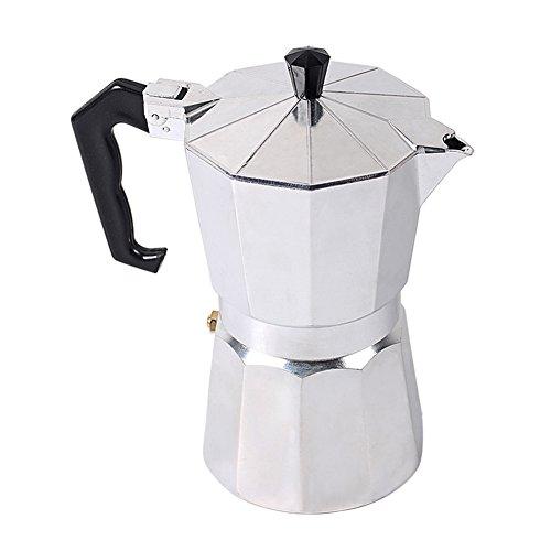 fastar EXPRESS Espresso Maker, 1/3/6/9/12Cup italienische Espresso Herd Kaffeemaschine Cappuccino Latte Kaffeekanne Herd 600ml/12 Cup - 12 Cup Kaffeemaschine