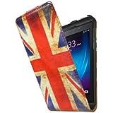 So'axess HOUBBZ10UK Etui portefeuille pour BlackBerry Z10 Motif Drapeau UK