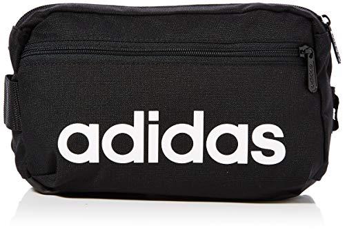 adidas Uni Linear Core Sport-Gürteltasche, Black/White, 39 cm