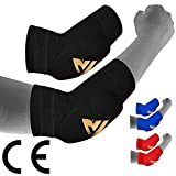 RDX MMA Elbow Support Brace Sleeve Pads Guard Bandage Elasticated Shield Protector