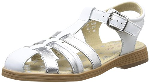 Start Rite  Juliana,  Sandali ragazza Bianco Blanc (White/Patent Silver) 30