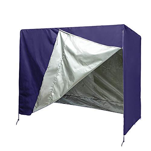 QEES Schaukelstuhlbezug, Schaukelabdeckung, 3-Sitzer-Hängematte-Abdeckung, Terrassenmöbelabdeckung HYJJZ151 Purple