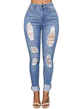 NPRADLA Pantalones Slim Stretch Skinny Slim
