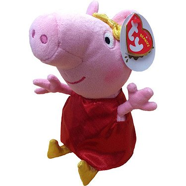 """Peppa Pig with Golden Boots - 6"""""""