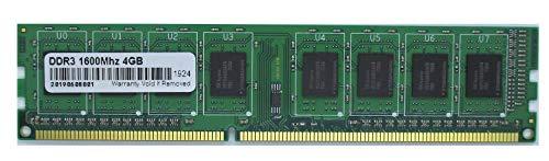 Speichererweiterung insgesamt 4 GB originaler Chipsatz DDR3 PC3-12800/1600MHz für PC, Workstation u.a. -