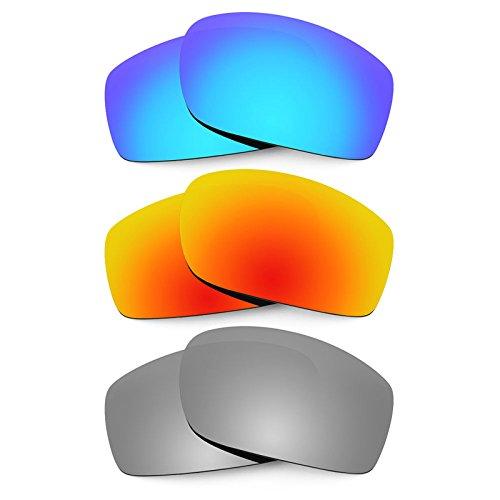 Revant Ersatzlinsen für Von Zipper Clutch Polarisiert 3 Paar Kombipack K014