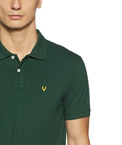 Allen Solly Men's Polo (8907587727059_AMKP317G04237_Green_X-Large)