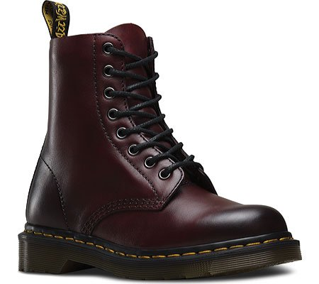 Dr. Martens Pascal, Stivali donna Cherry Red
