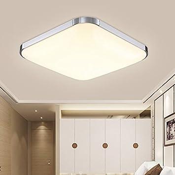 HengdaR 36W LED Deckenleuchte Modern Deckenlampe Warmweiss Flur Wohnzimmer Lampe Schlafzimmer 85V 265V 2700K
