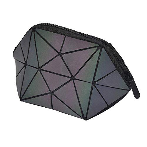 Frauen Lingge Kosmetiktasche Gefaltete Geometrische Tasche A