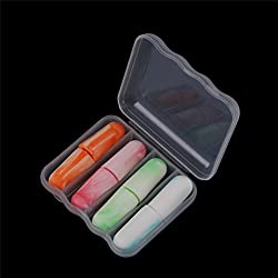 4 Pairs Soft Foam Ear Plugs Sleep Noise Prevention Earplugs Sleeping Reduction Hearing Protection Brace Supports Travel
