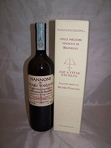 Grappa Acquavite Riserva Da Sigaro Toscano 70 cl Nannoni