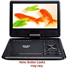 "9.8"" 3D Features DVD Player Plug N Play,SD,USB,Game,AV In/Out,AUX Out,Supports All Setop Box"