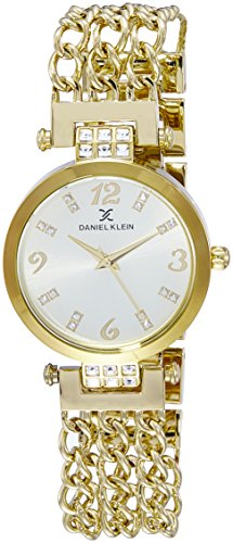 Daniel Klein Analog Gold Dial Women's Watch - DK10671-2