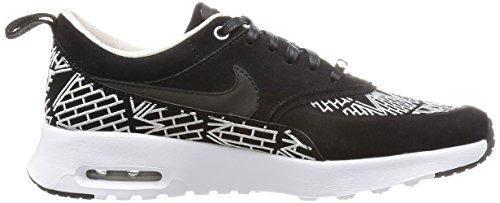 Nike Wmns Air Max Thea Lotc Qs, Scarpe sportive Donna Nero (Negro (Black / Black-White))