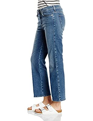 7 For All Mankind Women's Cropped Boot Jeans
