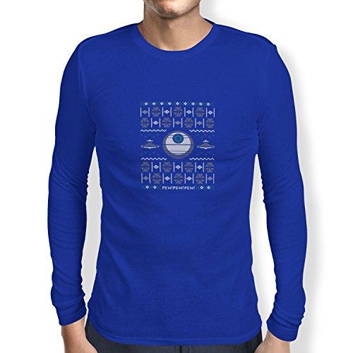 TEXLAB - Imperial Sweater - Herren Langarm T-Shirt Marine