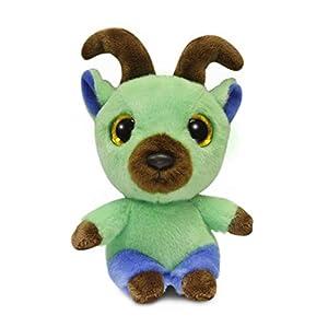 Aurora World YooHoo Kicks Alpine Ibex 5in 61099 Verde alfonbrilla para ratón