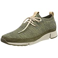 Clarks Tri Native., Women's Low-Top Sneakers, Green (Khaki Combi -), 6.5 UK (40 EU)