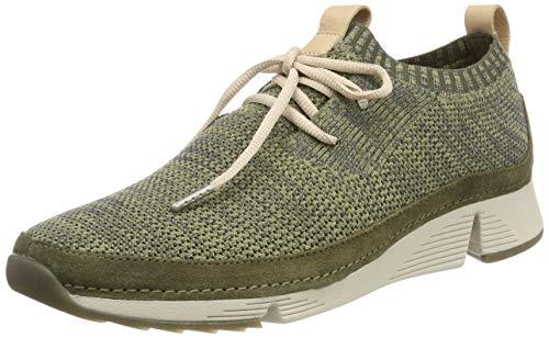 858ca61bd0870 Clarks Tri Native, Zapatillas para Mujer, Verde (Khaki Combi-), 39 EU