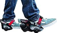 RAZOR - Rollers Electriques Turbo Jetts - Le roller électrique Turbo Jetts est équipé d'un moteur 80 watts au talon - Il peut rouler jusqu'a 16km/h et possede une autonomie continue de 30 minutes - Sa batterie en lithium-ion 12v est a la norme UL2271...