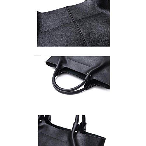 Donna Autunno Inverno Stile Nuovo PU moda Borsa A Guscio Grande Capacità Borsa A Tracolla Singola Borsa A Tracolla Inclinata Borsa Grey