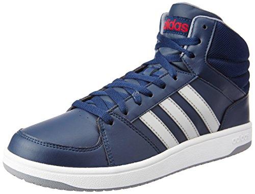 adidas Hoops VS Mid, Chaussures de Sport Homme Bleu - Azul (Maruni / Plamat / Rojpot)