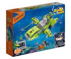 BanBao 7412 - Submarino de Tesoro, Color Verde