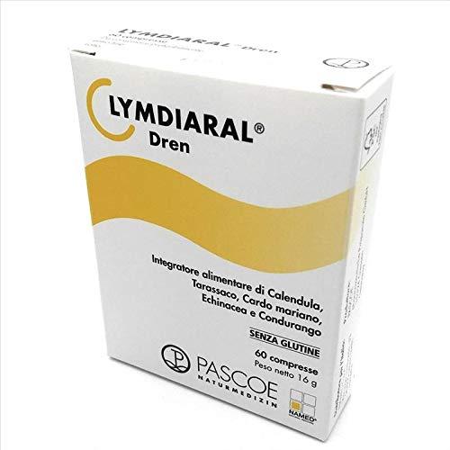 Integratore Alimentare Drenante A Base Di Calendula, Tarassaco Ed Echinacea Lymdiaral Dren 60 Compresse