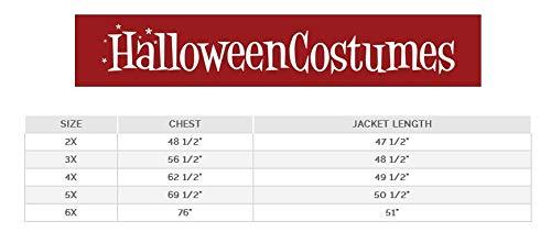 Plus Size Captain Blackheart Fancy dress costume ()