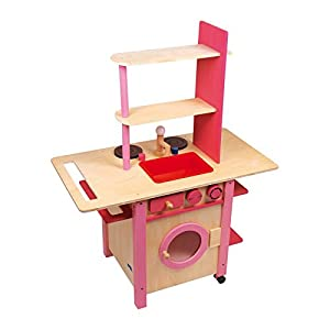 Small Foot Design 1154 - Cocina de Juguete, color rosa