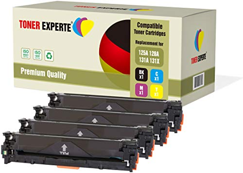 4er Set TONER EXPERTE® Premium Toner kompatibel für HP Laserjet Pro 200 MFP M276nw M276n M251nw M251n CP1525n CP1525nw CM1415fn CM1415fnw CM1312 CM1312nf CM1312nfi CP1215 CP1514n CP1515n CP1518ni (Hp Cp1215 Drucker)