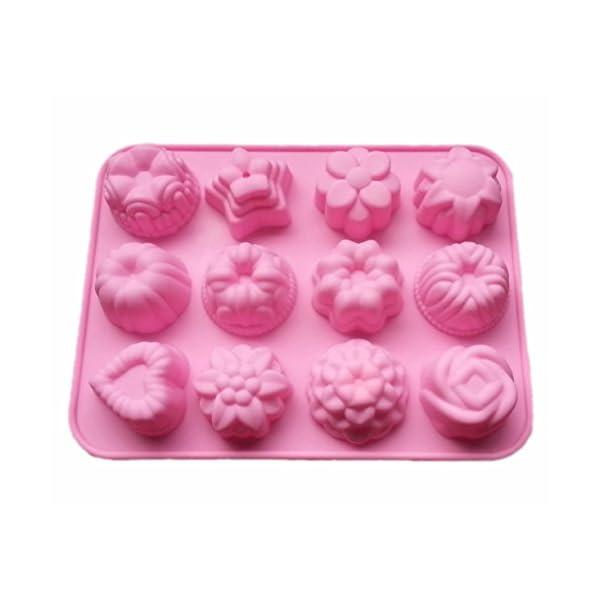 decoraci/ón para Tartas y Pasteles. Fablcrew Molde de Silicona con Forma de pintalabios y Pincel de Maquillaje