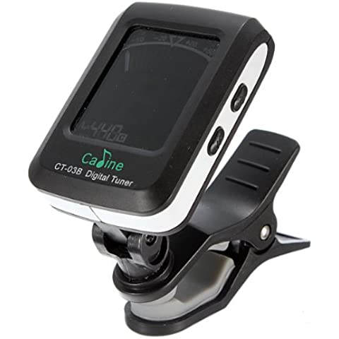 Digital Clip LCD On elettronico Acoustic Guitar Tuner