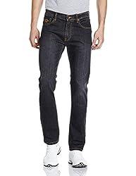 Pepe Jeans Mens Slim Fit Jeans (VAPOUR.3 IP_Black_36W x 34L)