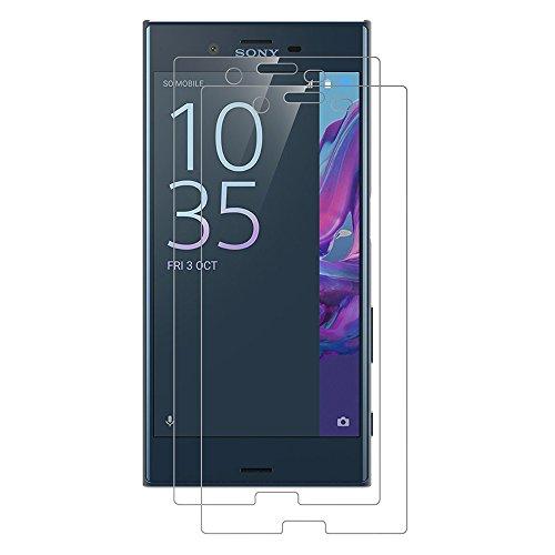 [2 Pack] Sony Xperia XZ Schutzfolie, AICEK Touch Kompatibel Sony Xperia XZ 5,2 Zoll Displayschutzfolie Panzerglas Displayschutz Screen Protector 9H Hardness Gehärtetem Glas