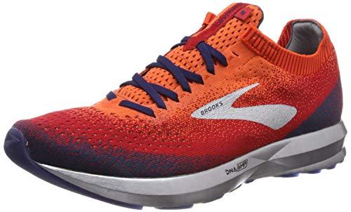 Brooks Levitate 2, Scarpe da Running Uomo, Arancione (Orange/Red/Navy 894), 42.5 EU