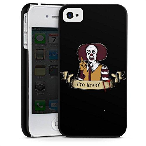Apple iPhone 7 Plus Silikon Hülle Case Schutzhülle ES Clown Horror Premium Case glänzend