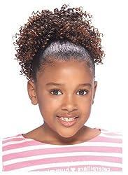 Model Model Glance Kids Drawstring Ponytail Cork Screw Color: 2