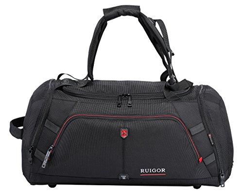 RUIGOR - RGL6412 Multifunktionale Herren Sporttasche Reisetasche 35 l Wasserabweisend mit Schuhfach