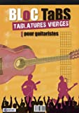 bloc tablature guitare