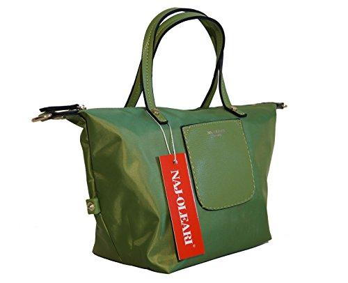 Shopperbauletto Najoleari Borsa In Modello Donna Nylon Misura 57HHwXnqzr