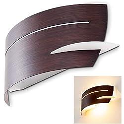 Aplique marrón Novara de diseño